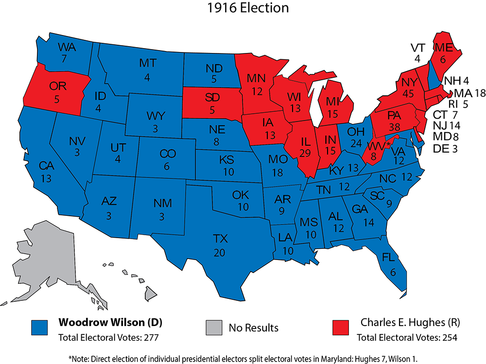 Larry J Sabatos Crystal Ball HISTORY IN RED AND BLUE AND - Political party map us red blue purple