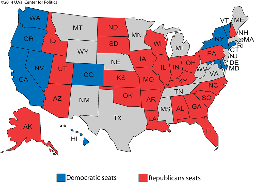 Larry J Sabato's Crystal Ball » Senate 2016 The Republicans