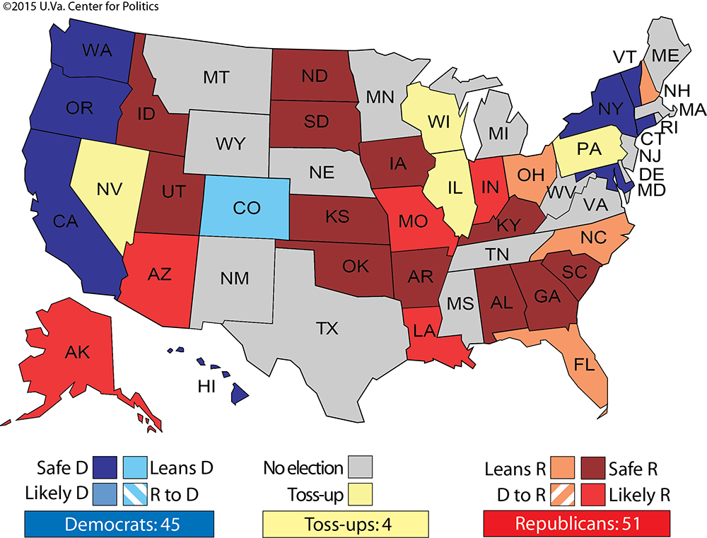 Larry J. Sabato\'s Crystal Ball » Notes on the State of Politics