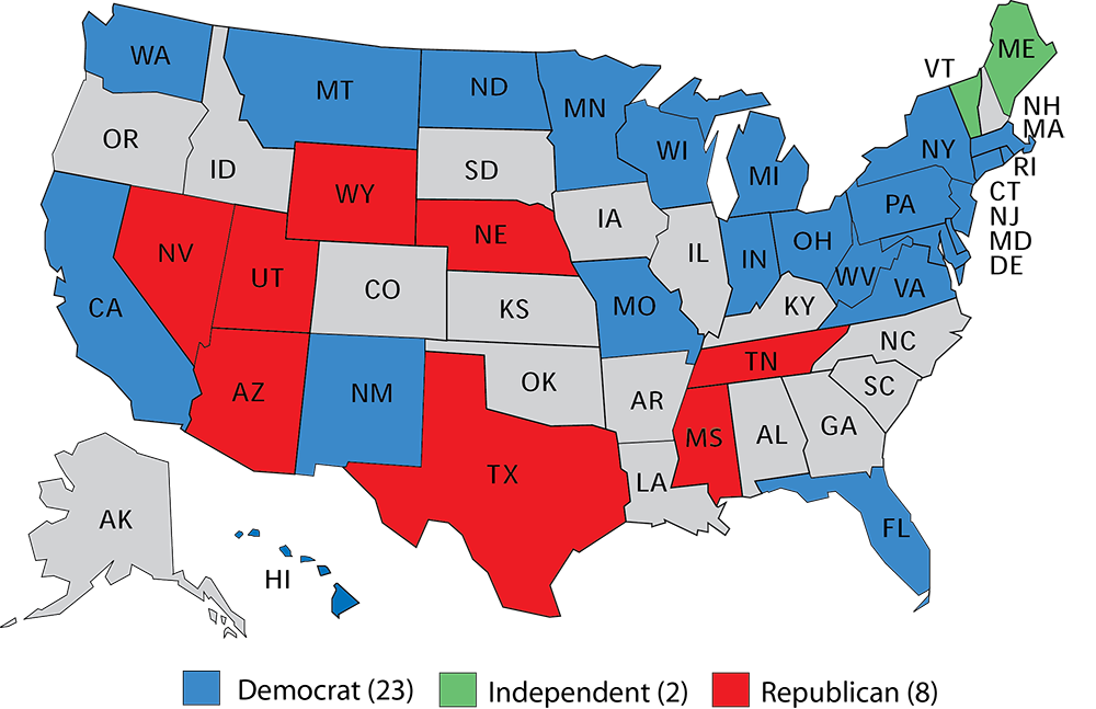 Larry J. Sabato\'s Crystal Ball » The Republican Senate edge