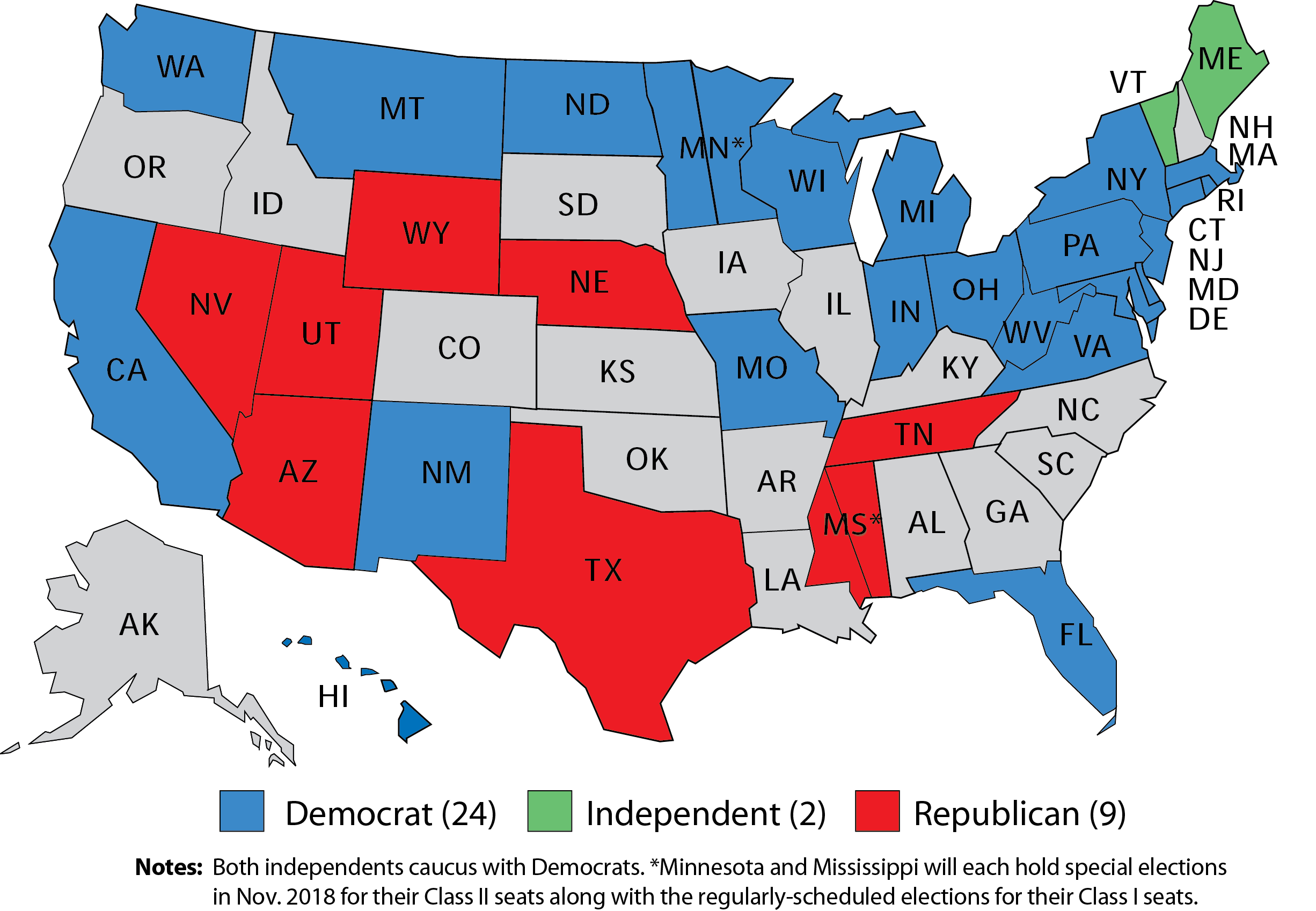 Larry J. Sabato\'s Crystal Ball » 2018 Senate