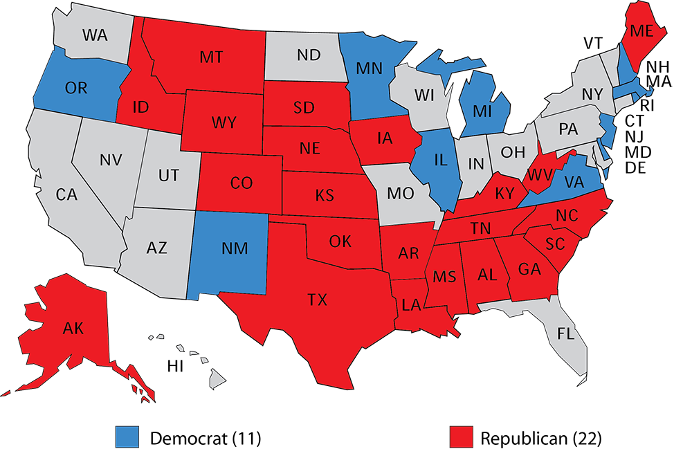 Larry J Sabatos Crystal Ball - Live interactive map us election