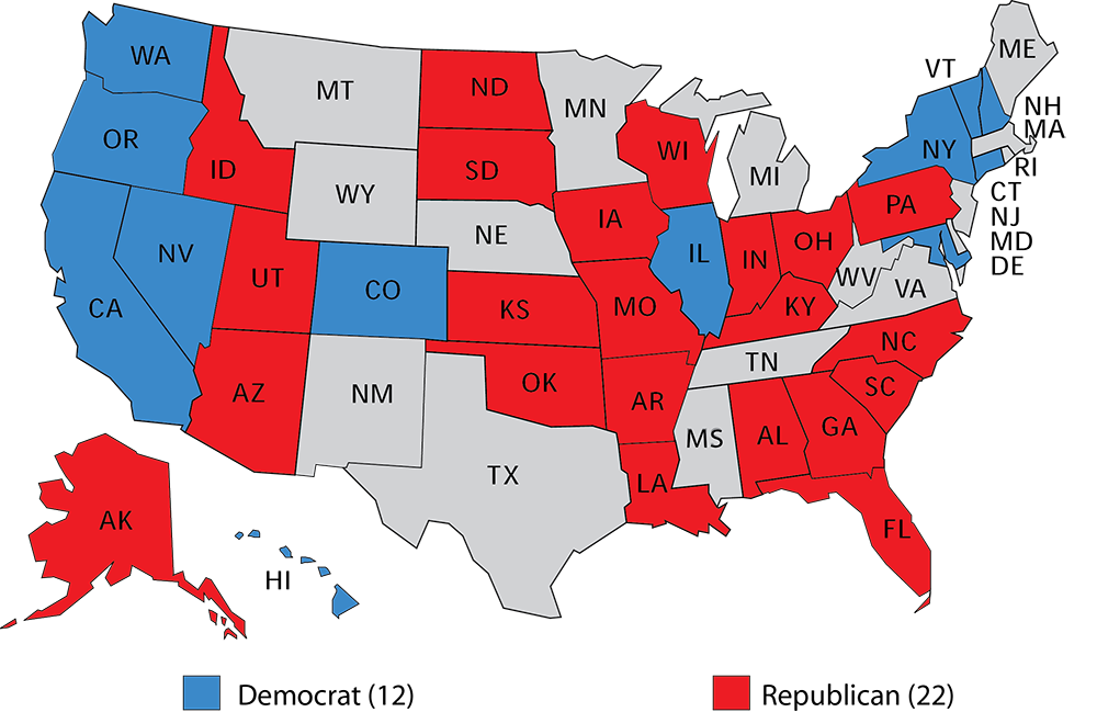 Larry J Sabatos Crystal Ball - Us map by congresina lolelection results