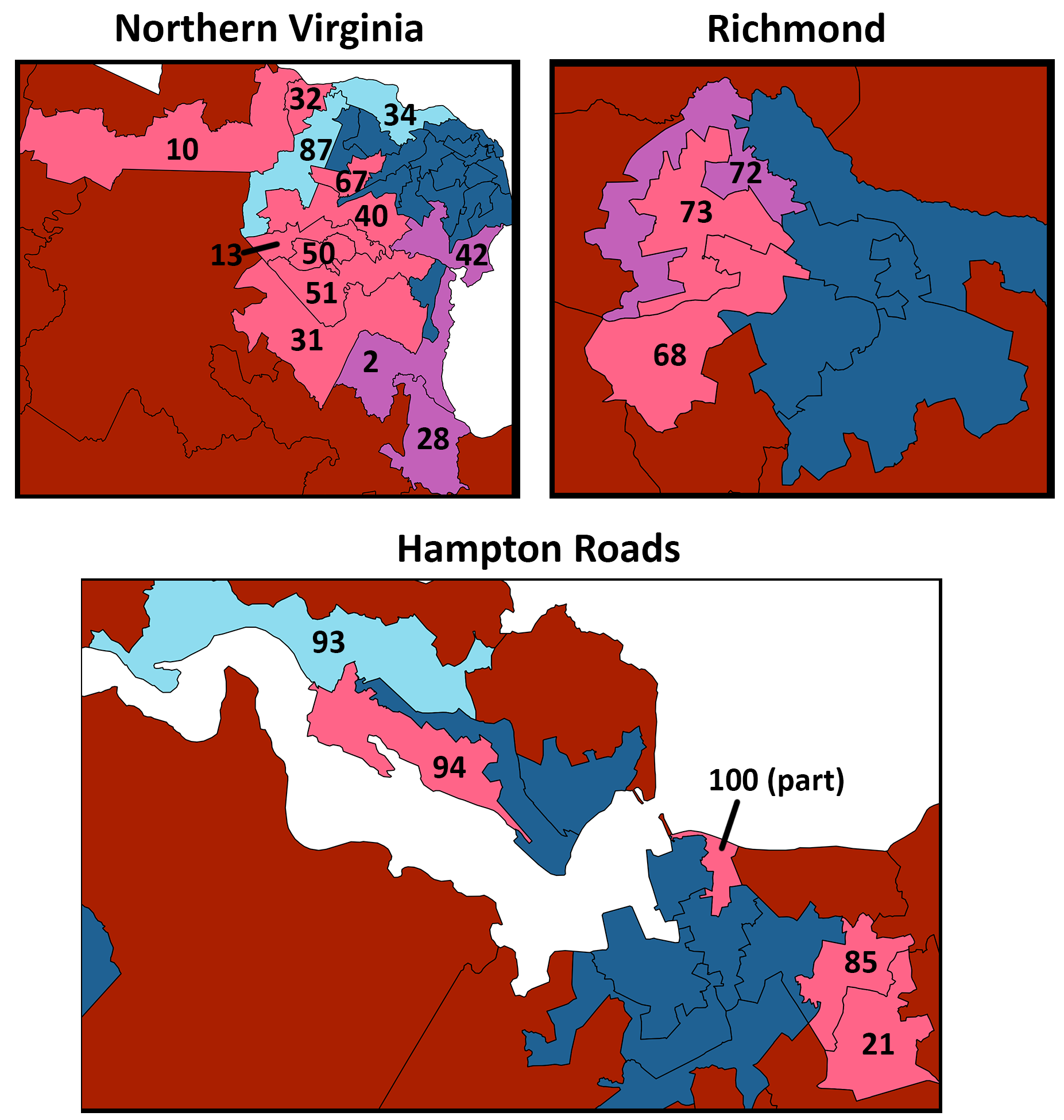 Underneath It All: Elections for the Virginia House of