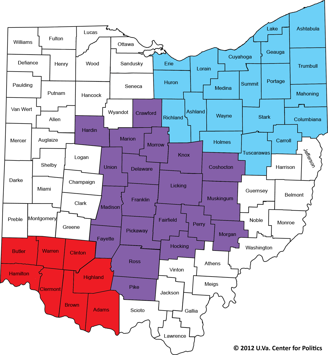 Ohio Zip Code Map Gallery