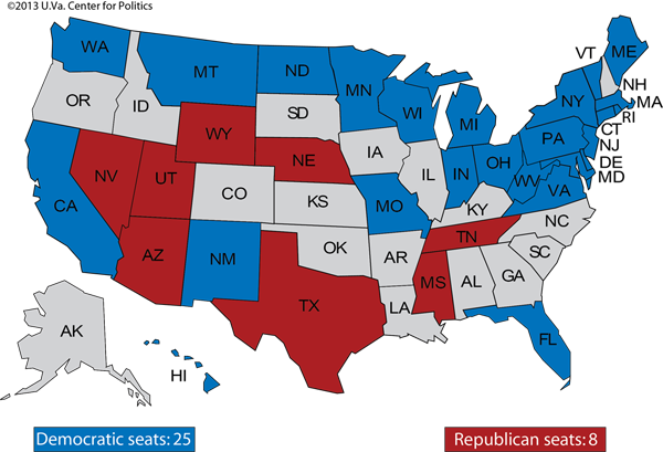 projected presidential by state
