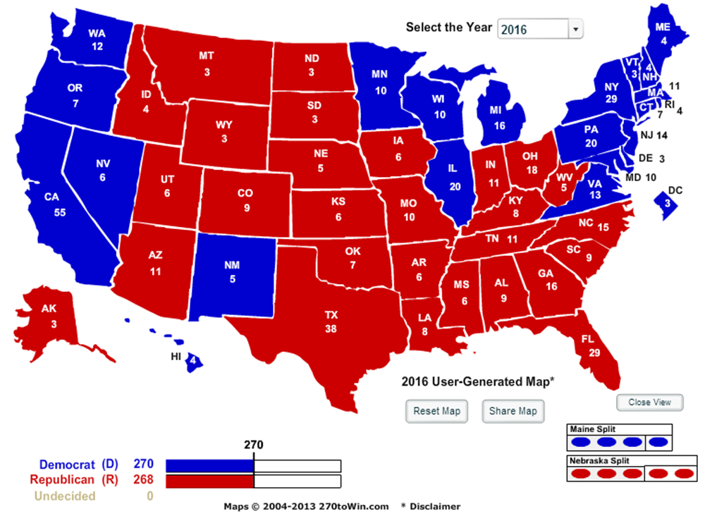 Larry J Sabato S Crystal Ball 187 The Map 11 Angles On The