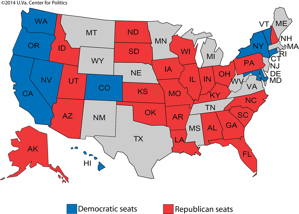 Larry J. Sabato\'s Crystal Ball » Senate 2016: Sorting out the ...