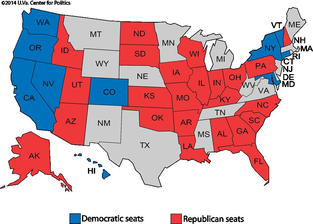 Larry J. Sabatou0026#39;s Crystal Ball u00bb Senate 2016: Sorting out the ...