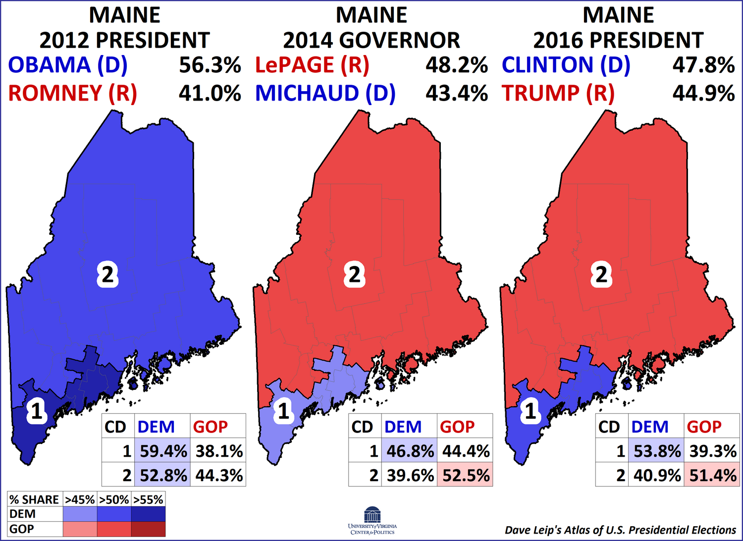 The Electoral College Maine And Nebraska S Crucial Battleground Votes Sabato S Crystal Ball