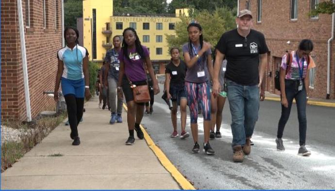 UVA Center for Politics Hosts Youth Ambassadors from the Caribbean