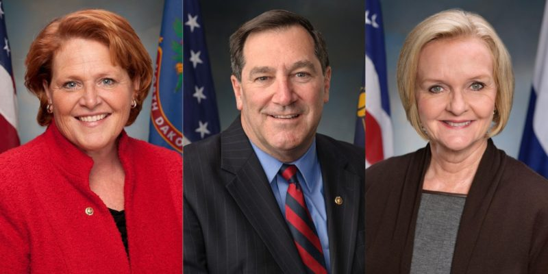 Former Sens. Donnelly, Heitkamp, and McCaskill Analyze Democrats' Future at Center for Politics Panel