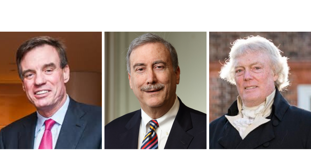 "Warner, Sabato, and ""Thomas Jefferson"" Celebrate UVA Graduates Saturday Morning"