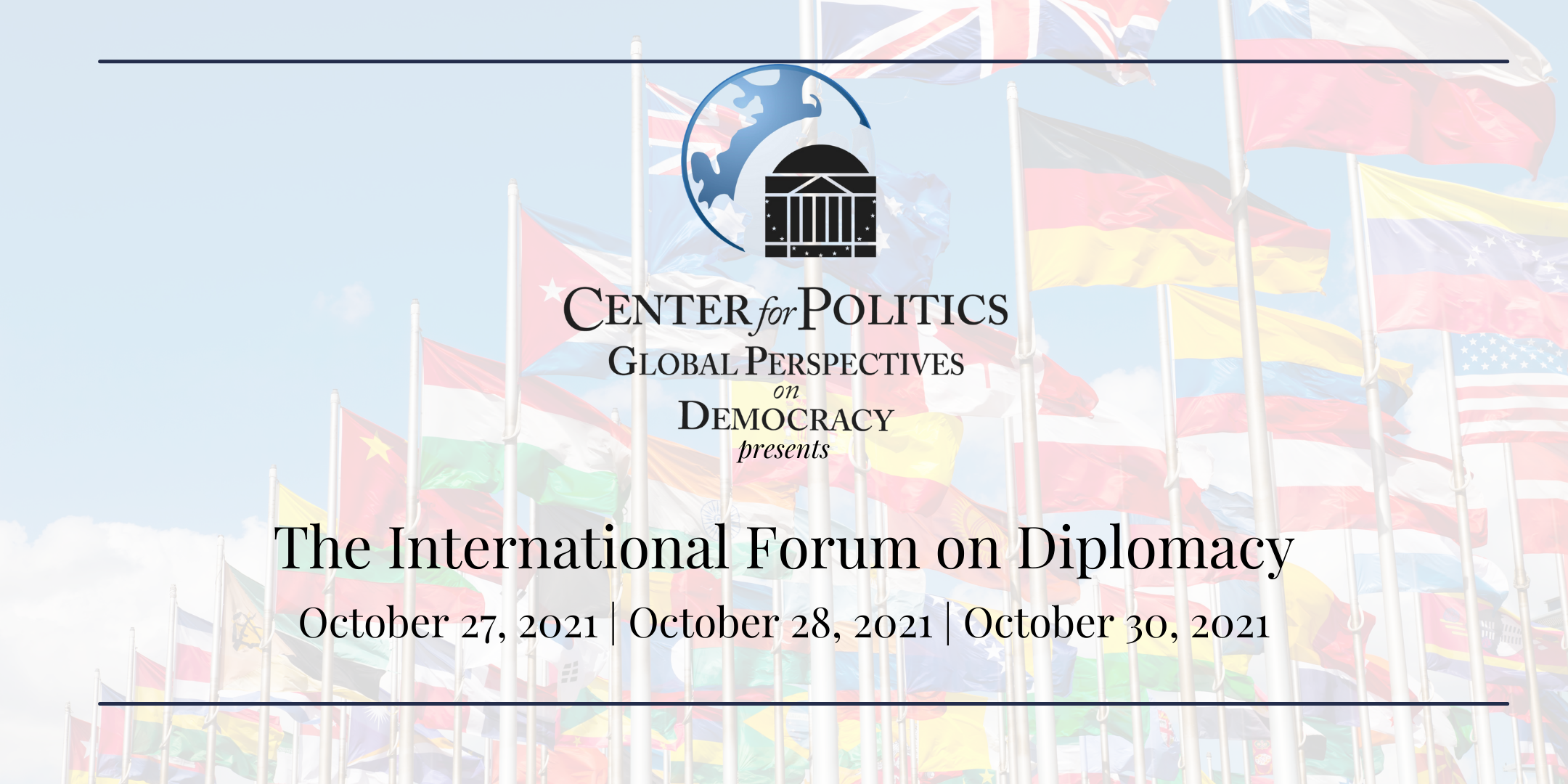 UVA Center for Politics Hosts International Forum on Diplomacy